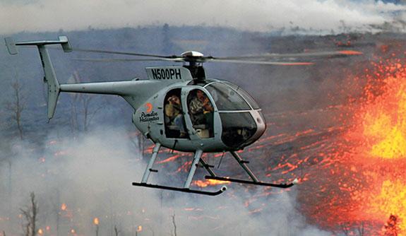 Paradise Helicopters Destination Hilo